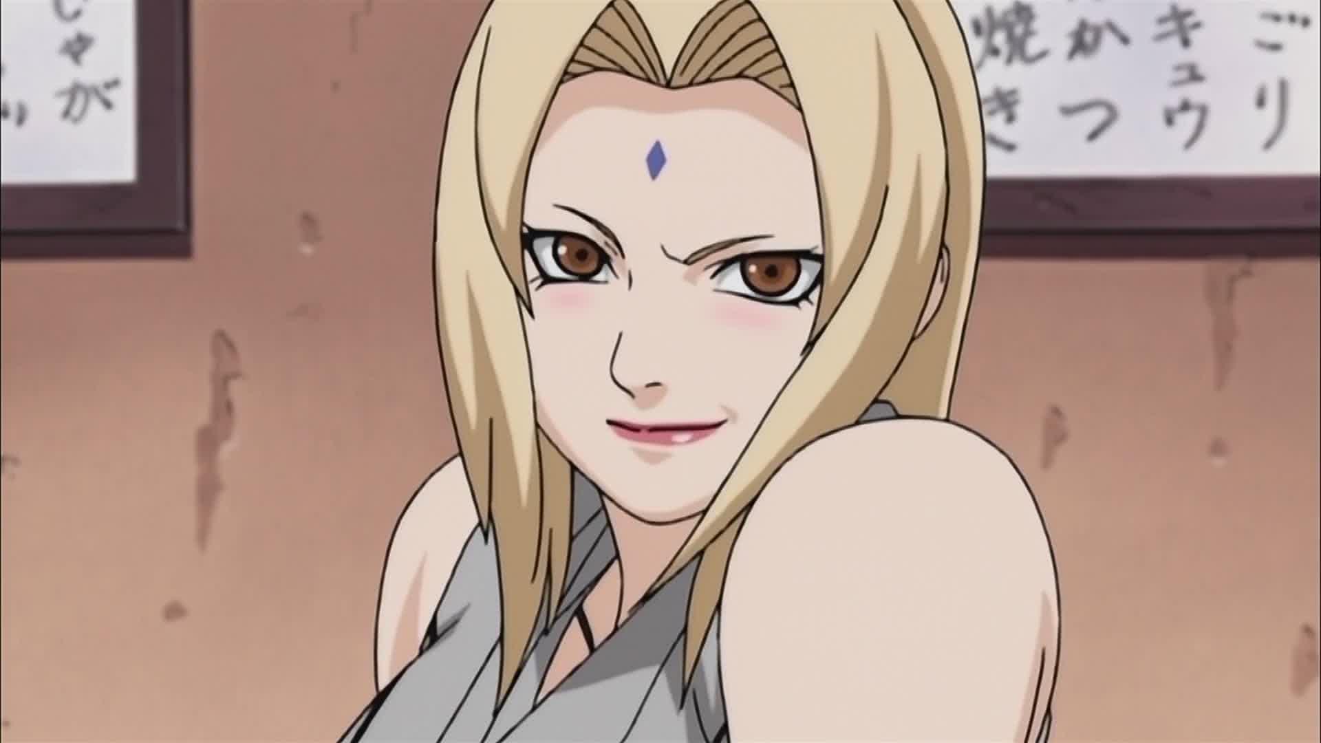 Jolie Jule revela un cosplay de Tsunade del anime Naruto