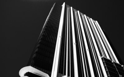 Architecture in black and white