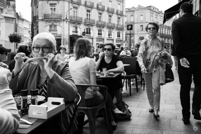 City restaurant scene
