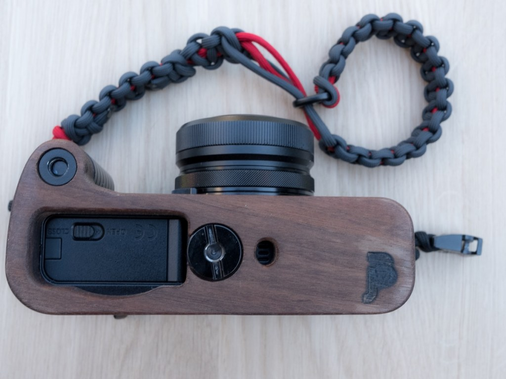My X100F with the J.B. Camera Designs wood grip
