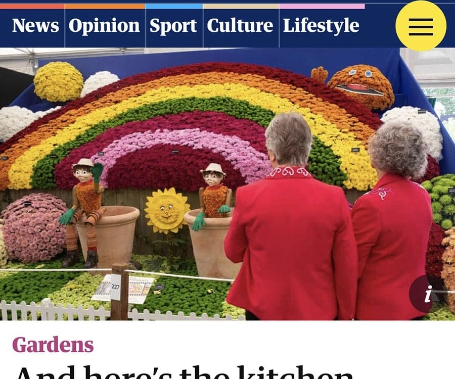 Garden Designer Ann-Marie Powell contributes to the Guardian about lockdown gardening and gardens