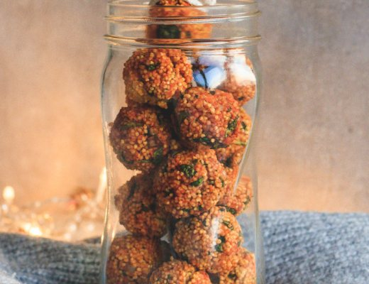 Hirse Snack Balls