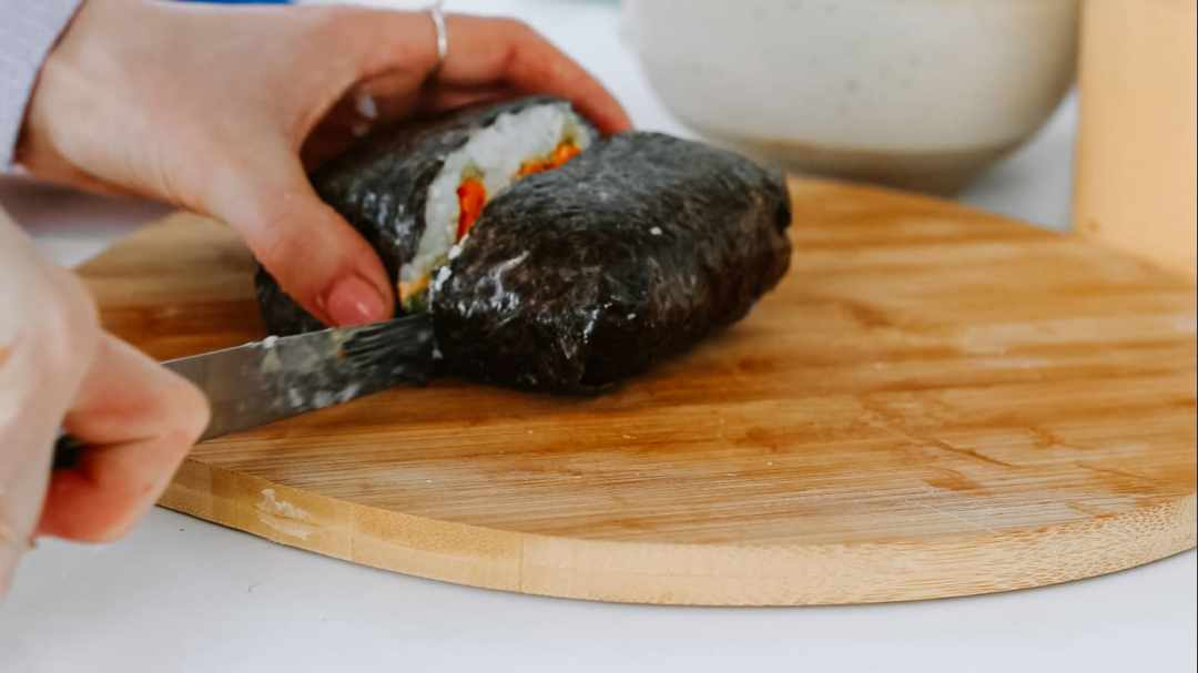 vegane sushi sandwiches
