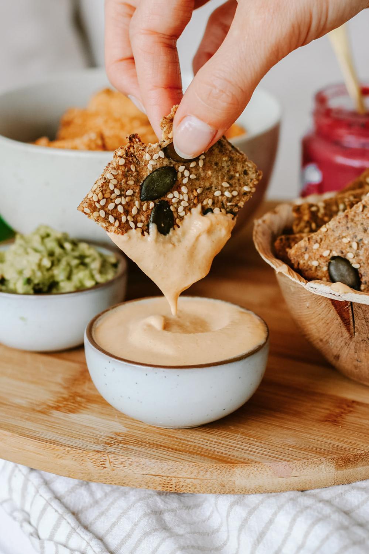 Cracker Rezept: gesunde Knabbereien einfach selber machen