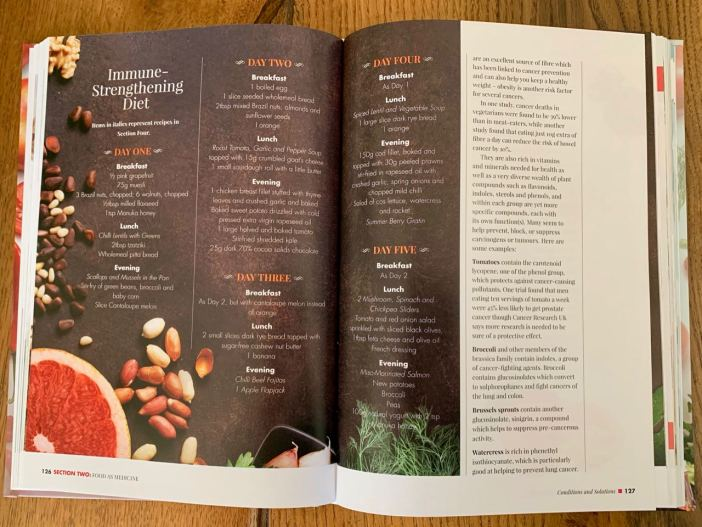 Extract from The Food Bible: the ultimate reference Book for Food & Health
