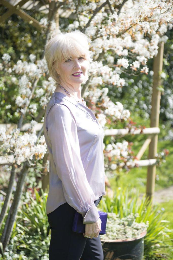 Victoria Jane McKenna - a luxury British Silk brand - the Minnie blouse
