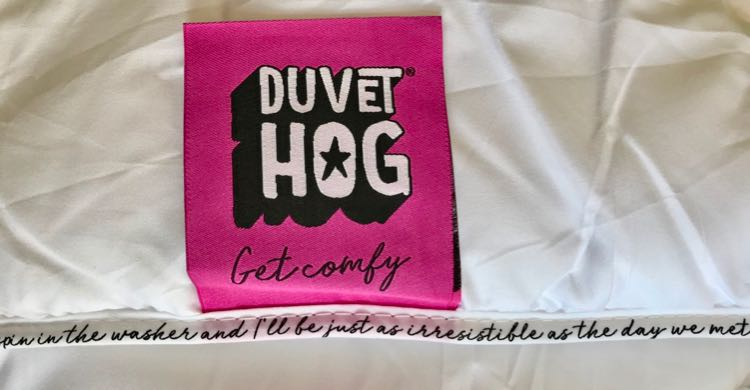 Duvet Hog: duvets made out of recycled plastic but feels like goose down