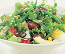 Avocado & Pine Nut Salad