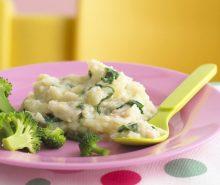 Cod & Spinach Puree