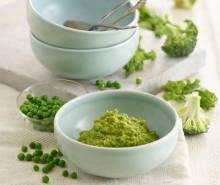 Butternut Squash, Pea, Broccoli & Kale
