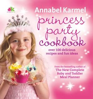 Princess party cookbook annabel karmel princess party cookbook forumfinder Images