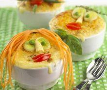 Kip- en aardappelpasteitjes