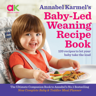 Baby led weaning recipe book annabel karmel baby led weaning recipe book forumfinder Image collections