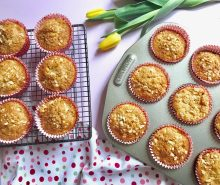 Coconut, Apricot & Carrot Muffins