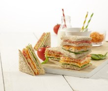 Traffic Light Sandwich Stacks