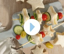 Annabel's Star Sandwich Skewers