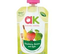 Organic Strawberry, Banana & Apple Puree
