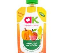 Organic Pumpkin, Apple & Sweetcorn Puree