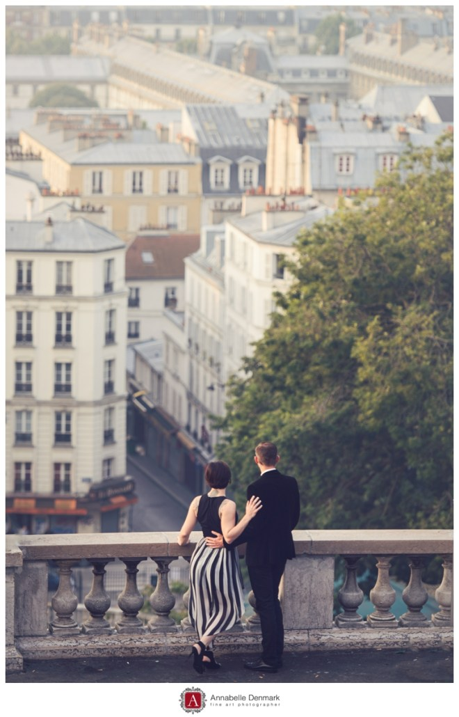 Overlooking Paris