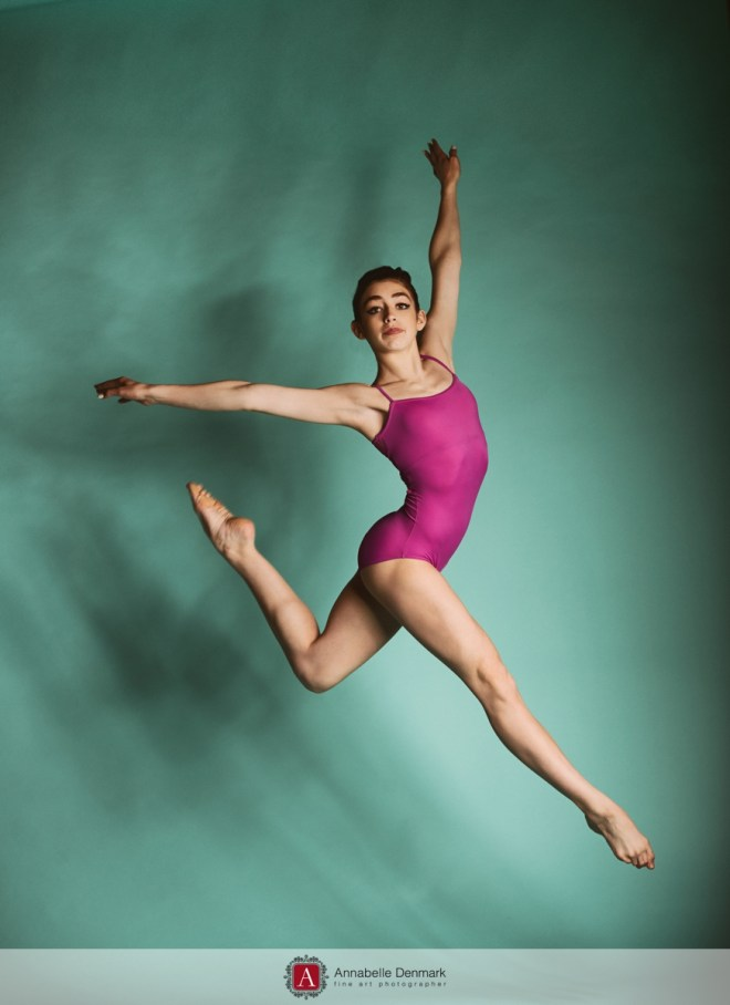 Jump performed by Talya
