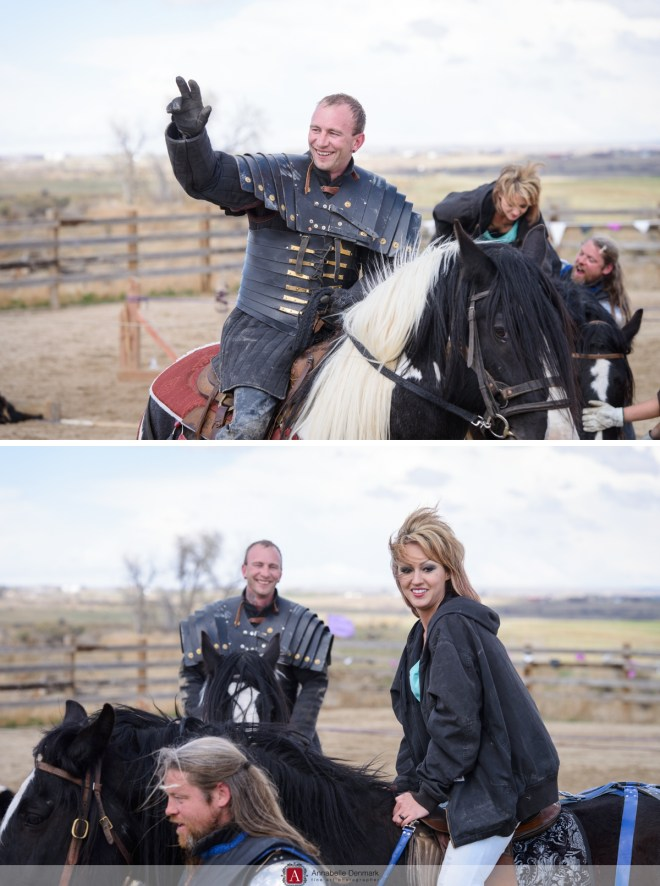 The and Knight and his Lady rode away, and lived happily ever after.