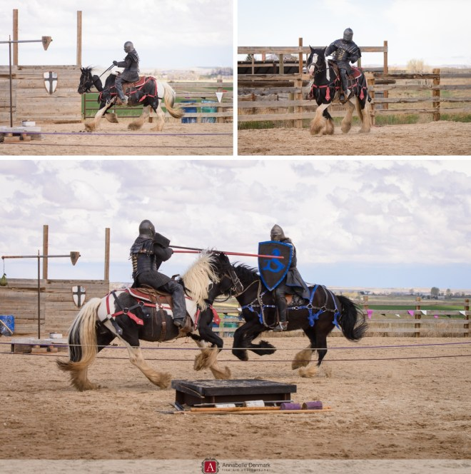 Tony can Joust like a ....jouster :)