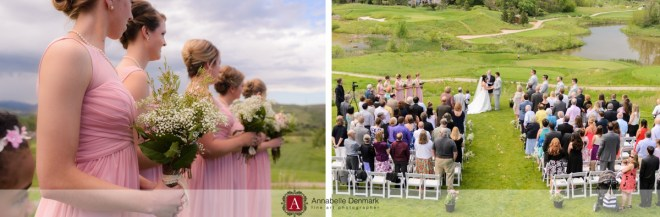A gorgeous golf course wedding in Colorado