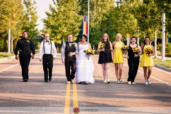 an urband Colorado wedding