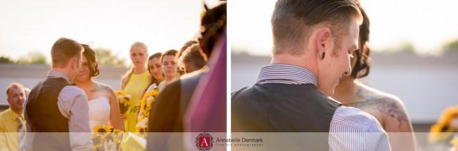 Colorado urban wedding
