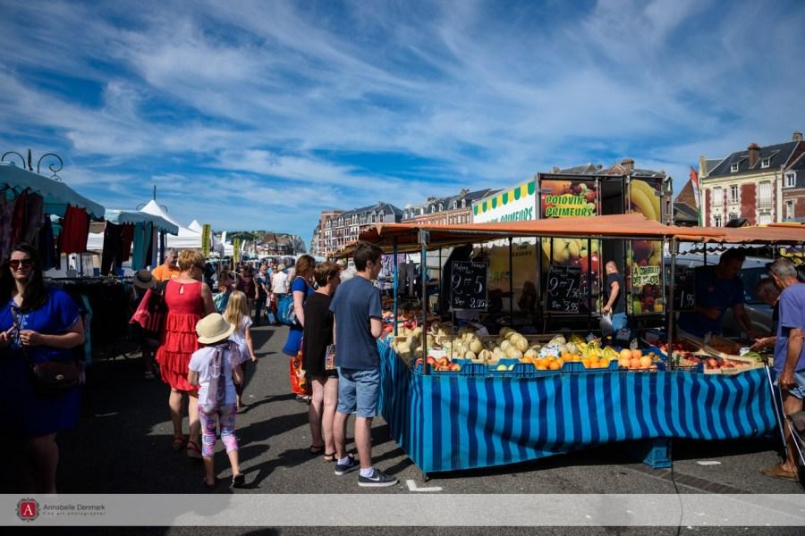Mers les Bains the Market