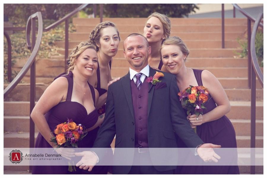 Brian and the bridesmaids