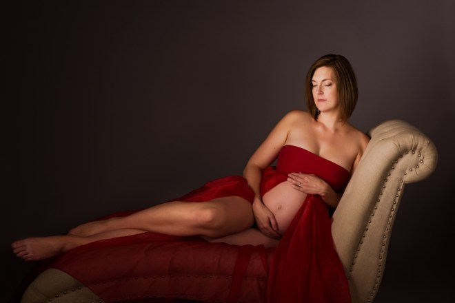 fearless, epic maternity session