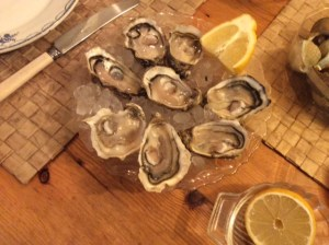 Takeaway oysters