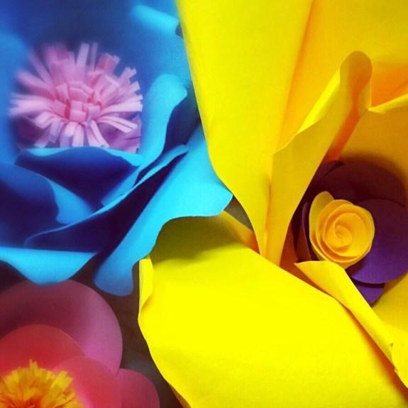 fiori giganti in bella