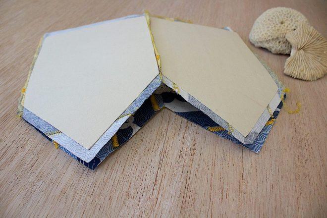 completate la cucitura dei pannelli esterni