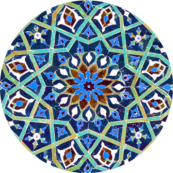 Dinner Plate Set - Persian Tile