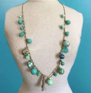 Bobble Necklace Primavera