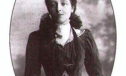 Lucy Maud Montgomery attorno al 1901
