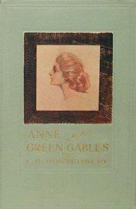 Copertina della priam edizione di Anne of Green gables (1908)