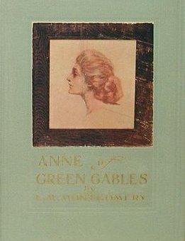 Copertina della prima edizione di Anne of Green Gables (1908)