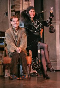 The Drowsy Chaperone — Jonathan Crombie and Nancy Opel. (Joan Marcus)