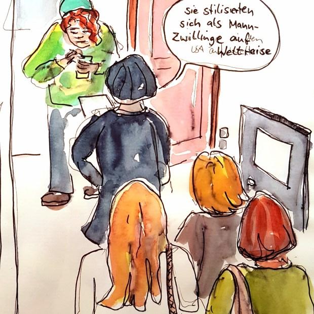 bloggers and Sylvia Schütz