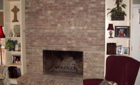 Fireplace transformation