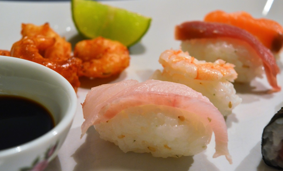 Reunion Menu: Sushi and Tempura