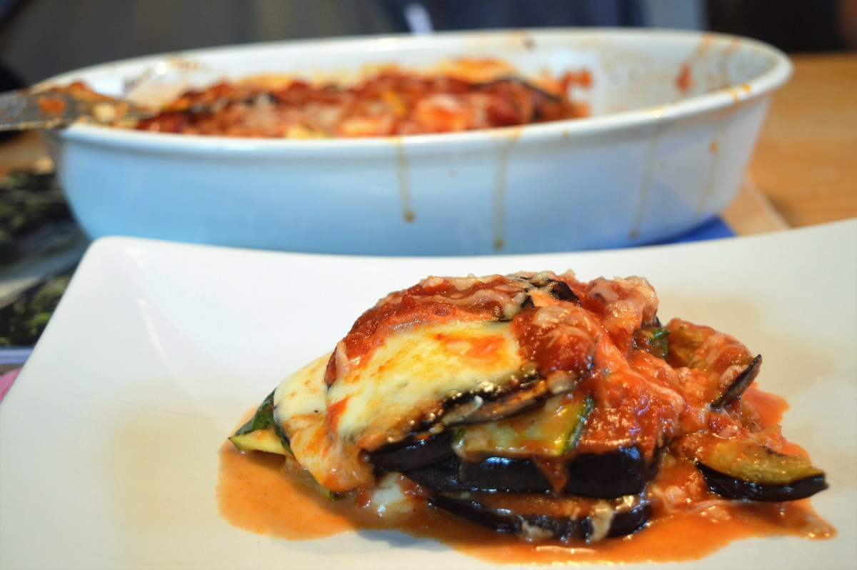 Melanzane & Zucchini alla Parmigiana (4 everyday Ingredients)
