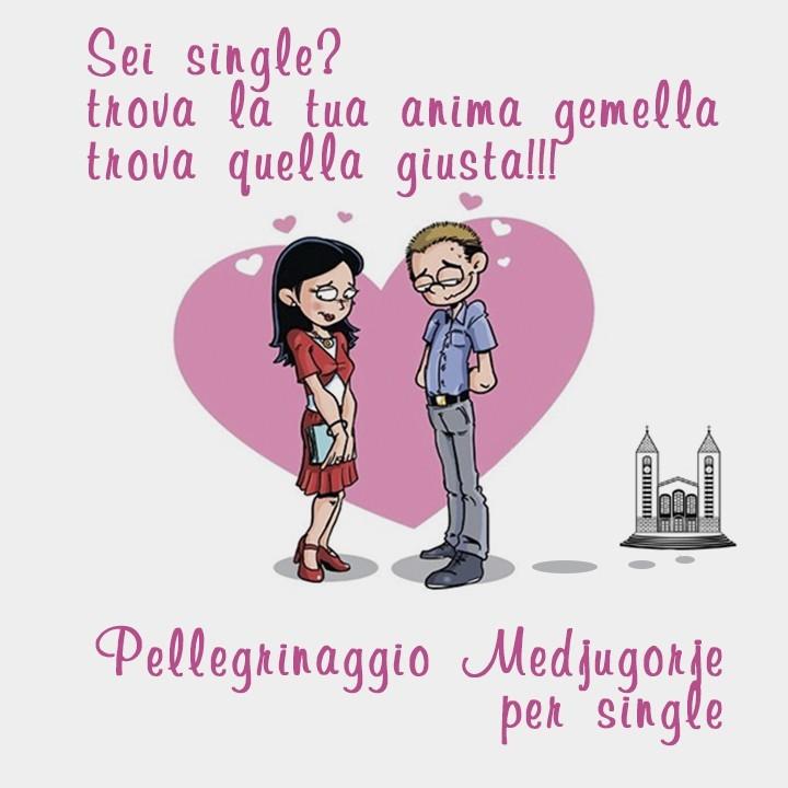Pellegrinaggio Medjugorje per single