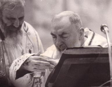 Padre Pio e le anime del purgatorio