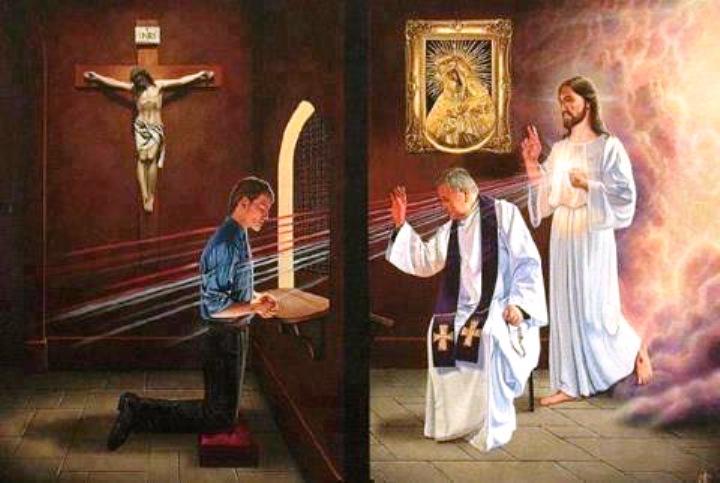 la confessione è solo un'invenzione dei preti