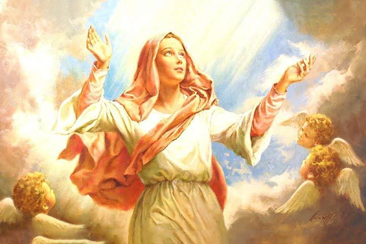 la guida di Maria è necessaria per la santa Chiesa