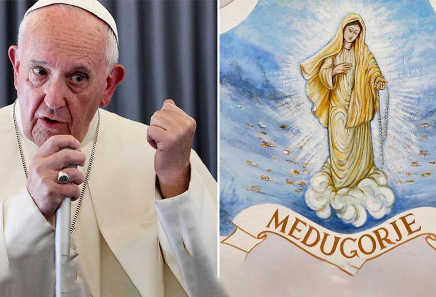Papa Francesco a Medjugorje